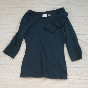 Anthropologie 3/4 length top